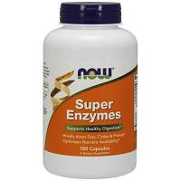 Enzyme Now Foods, Super Enzyme, 180 Kapseln