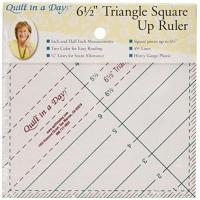 Quiltlineale Quilt In A Day 6 1/2 x 6 1/2 Zoll Triangle Square Up Lineal