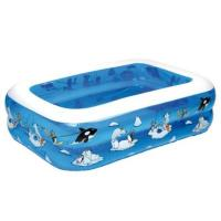 Planschbecken friedola 12450 - My First Pool Arctic 136 x 96 x 38 cm