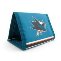 Geldbeutel für Eishockey-Fans JF Sports Canada NHL San Jose Sharks Trifold Nylon Wallet