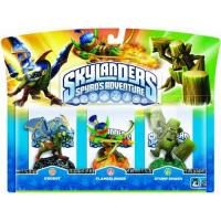 Skylander-Figuren Skylanders - Triple Pack A: Drobot, Stump Smash, Flameslinger