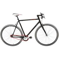 Fahrrad KS Cycling Fahrrad Fitness-Bike Single Speed Essence RH 56 cm, Schwarz, 28, 397B