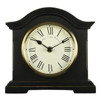 Kaminuhr Towcester Clock Works Co. Acctim 33283 Falkenburg Kaminuhr, Schwarz
