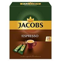 Löslicher Kaffee Jacobs Espresso Sticks 25 Portionen / Packung, 4er Pack (4 x 45 g)