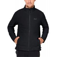 Fleecejacken Jack Wolfskin Herren Fleecejacke Moonrise, black, M, 1702061-6000003