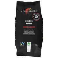 Fairtrade Kaffee Mount Hagen Röstkaffee gemahlen FairTrade, Naturland, 2er Pack (2 x 500 g) - Bio