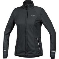 Softshelljacke GORE RUNNING WEAR Damen Soft Shell Laufjacke, GORE WINDSTOPPER, MYTHOS LADY 2.0 Jacket, Größe 38, Schwarz, JWSMYL