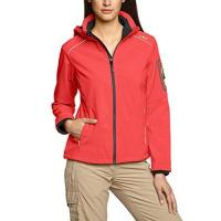 Softshelljacke CMP Damen Softshelljacke, Red Fluo-Grey, 36, 3A22226CF5-1