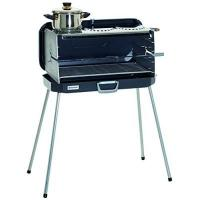 Koffergrill Dometic 9103300173 Classic 1 Koffergrill/Gasgrill mit 3 Kochplatten, 50 mbar