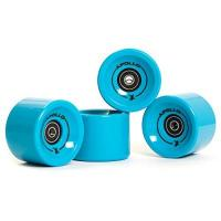 Longboard-Rollen Apollo Longboard Rollen, Wheel Set inkl. Kugellager, 78A - 70mm, Farbe: Solid Blue/Blau