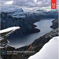 Bildbearbeitungsprogramm Adobe Photoshop Lightroom 6 | Windows/Mac | Disc
