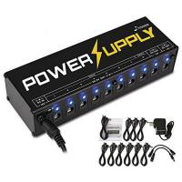 Effektpedal Donner DP-1 10 Isolated Ausgang Gitarre Effektpedal Power Supply Adapter