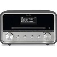 CD-Player TechniSat DIGITRADIO 580 / Digital-Radio mit CD-Player, DAB+, UKW, Internetradio, Multiroom-Streaming, Spotify Connect, Bluetooth, USB, anthrazit