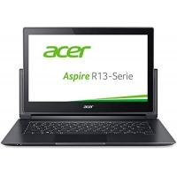 Laptop Acer Aspire R 13 (R7-372T-53E0) 33,8 cm (13,3 Zoll Full HD IPS) Convertible Notebook (Intel Core i5-6200U,8GB RAM, 256GB SSD, Intel HD Graphics 520, Win 10 Home, Multi-Touch) grau