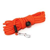 Mystique® Nylon Feldleine rund 7mm neon orange Standard Karabiner (40m)