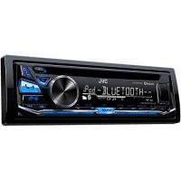 Autoradio JVC KD-R871BT Autoradio USB/CD-Receiver mit Bluetooth inkl. A2DP schwarz