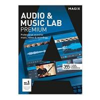Audio Software MAGIX Audio & Music Lab – 2017 Premium – Audiobearbeitung perfektioniert. Videoton revolutioniert. [Download]