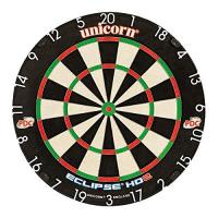 Sisal Dartscheibe Unicorn Dart Board Eclipse HD2 TV Edition Bristle Board, 79448