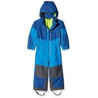 VAUDE Kinder Suricate Overall II Hydro Blue/Green, 104
