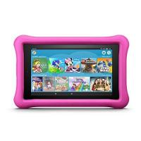Kinder-Tablet-Spiele Fire 7 Kids Edition-Tablet, 17,7 cm (7 Zoll) Display, 16 GB, pinke kindgerechte Hülle (vorherige Generation – 7.)