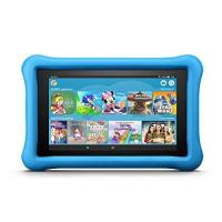 Webbrowser Fire 7 Kids Edition-Tablet, 17,7 cm (7 Zoll) Display, 16 GB, blaue kindgerechte Hülle