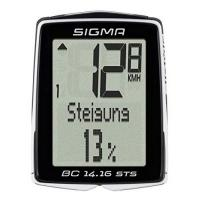 CAD Planungssoftware Sigma BC 14.16 STS CAD Fahrradcomputer schwarz One Size