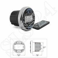 Marine-Radios Caliber MRM641BT Wasserdicht Marine Bluetooth Radio FM AM, USB , Boot Stereo Audio MP3 Player Schwarz