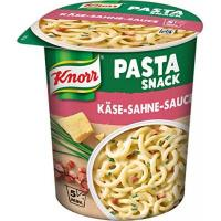 Snacks Knorr Snack Bar Pasta Snack Käse-Sahne-Sauce 1 Portion (8 x 71 g)