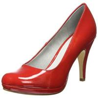 Pumps Tamaris Damen 22417 Pumps, Rot (Chili Patent 520), 38 EU