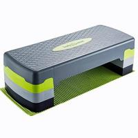 Steppbrett Body & Mind Aerobic Steppbrett Elite 3-Stufen Stepper Step-Bench mit gratis Anti-Rutsch-Matte