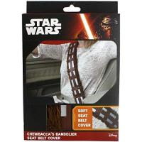 Chewbacca Star Wars - Safety Belt Covering Star Wars, Chewbacca, Brown/White/Black - White (1 Accessories)