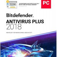 Bitdefender Antivirus Plus 2018/2019 - 1 Jahr / 1 PC + VPN