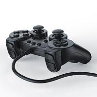 PS2-Controller CSL - Gamepad für Playstation 2 PS2 mit Dual Vibration - Joypad Controller