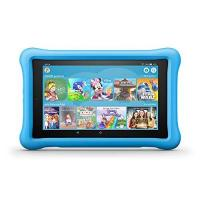 Kinder-Tablet-Spiele Fire HD 8 Kids Edition-Tablet, 8-Zoll-HD-Display, 32 GB, blaue kindgerechte Hülle