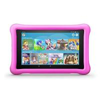 Kinder-Tablet-Spiele Fire HD 8 Kids Edition-Tablet, 8-Zoll-HD-Display, 32 GB, pinke kindgerechte Hülle