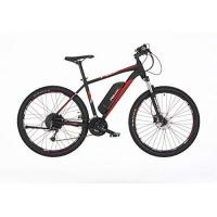 Fischer E-Bike Mountain EM 1726 (2019), schwarz matt, 27,5'', RH 48 cm, Hinterradmotor 45 Nm, 48 Volt Akku, 422 Wh