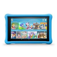 Kinder-Tablet-Spiele Fire HD 10 Kids Edition-Tablet, 25,65 cm (10,1 Zoll) 1080p Full HD-Display, 32 GB, blaue kindgerechte Hülle