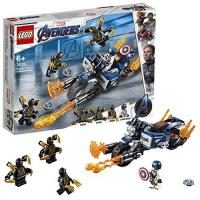 LEGO Super Heroes LEGO 76123 - Marvel Super Heroes Captain America: Outrider-Attacke