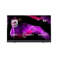 OLED-TV Philips 65OLED903/12 164cm (65 Zoll) OLED TV (Ambilight, 4K Ultra HD, Triple Tuner, Android Smart TV) Silber
