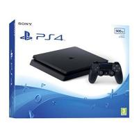 PS4 Slim PlayStation4 - Konsole (500GB, schwarz, slim)